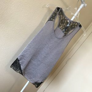 Julie's Closet Champagne Laced Tank Top!